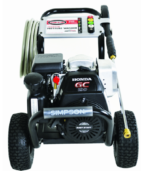 SIMPSON Cleaning MSH3125-S 3100 PSI at 2.5 GPM Gas Pressure Washer Powered by Honda