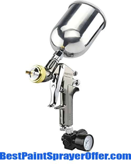 Neiko 31215a Hvlp Gravity Feed Air Spray Gun Best Paint
