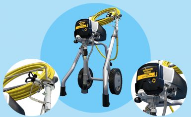 Wagner Airless Twin Stroke Paint Sprayer, 9175