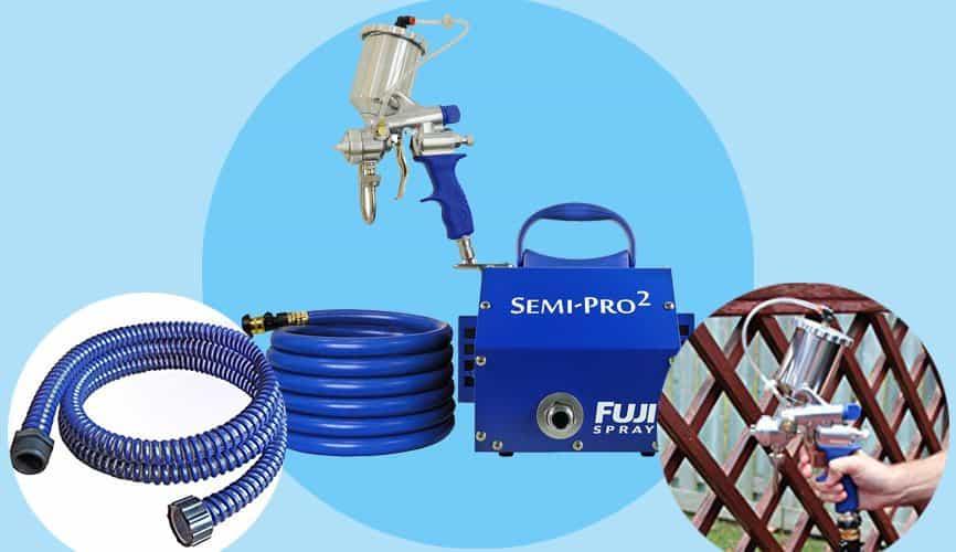 Fuji Gravity HVLP Spray System 2203G