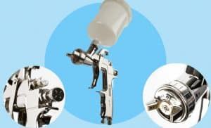 Grex airbrush Top Cavity Fed Spray Gun, X4000.12