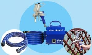 Fuji Gravity HVLP Spray System 2203G