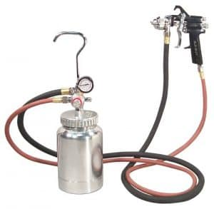 Astro 2PG7S Pressure Pot spray gun