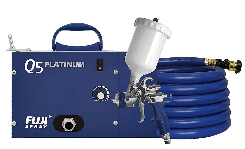 Fuji 2895 T75g Q5 Platinum Hvlp Spray System Best Paint